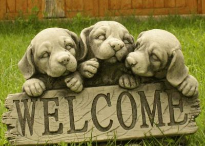 WELCOME PERROS