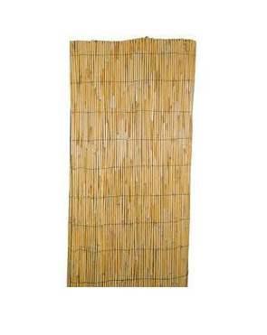 Rollo de bambú pelado